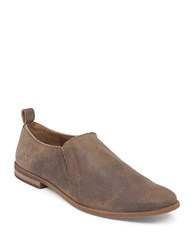 Lucky Brand Erikah Suede Loafers Brown
