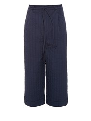 Craig Green Wide Leg Quilted Trousers