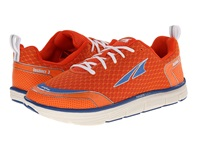 Altra Zero Drop Footwear Instinct 3.0 Orange Blue Men's Running Shoes