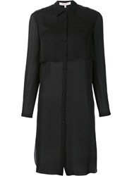 Carolina Herrera Longline Shirt Black