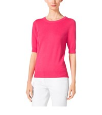 Michael Kors Elbow Sleeve Cashmere Sweater