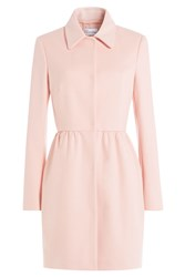 Red Valentino Wool Blend Tailored Coat Rose