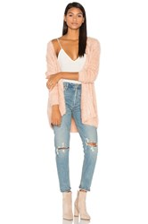 Minkpink Soft Serve Cardigan Blush