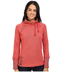 Prana Lucia Sweater Sunwashed Red Women's Sweater Pink