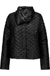 Duvetica Anfinolea Quilted Shell Down Coat Black