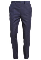Burton Menswear London Suit Navy Dark Blue