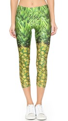 Zara Terez Natural Pineapple Performance Leggings