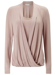 Jacques Vert Jersey Trim Top Mid Neutral