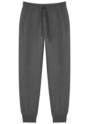 Versace Grey Cotton Blend Jogging Trousers