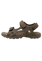 Lumberjack Tobia Walking Sandals Dark Beige Dark Brown