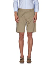 Obey Trousers Bermuda Shorts Men Khaki