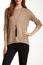 Heartloom Rolo Sweater Beige