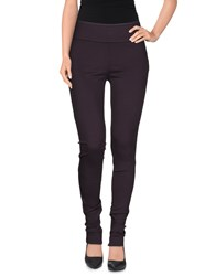 Moschino Trousers Leggings Women Deep Purple