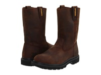 Caterpillar Revolver Brown Pull Up Leather Men's Work Pull On Boots