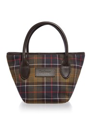 Barbour Classic Tartan Tote Bag Multi Coloured Multi Coloured