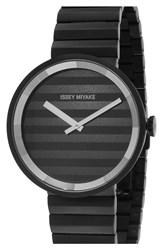 Issey Miyake 'Please' Bracelet Watch 40Mm Black