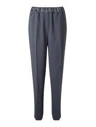Jigsaw Relaxed Crepe Dinner Trouser Grey