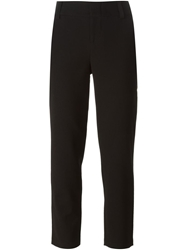 Alice Olivia 'Stacey' Cropped Trousers Black