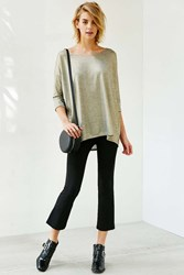 Silence And Noise Silence Noise Amy Sparkle Top Yellow