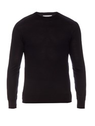 Givenchy Cuban Fit Wool Sweater Navy