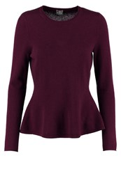 Ftc Jumper Plum Bordeaux