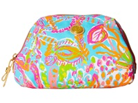 Lilly Pulitzer Waterside Cosme Shorely Blue Cosmetic Case