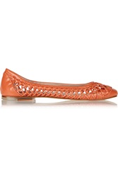 Bloch Lila Woven Leather Ballet Flats