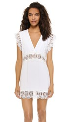 Suboo Stevie Lace Mini Beach Dress Ivory