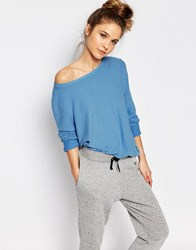 Wildfox Couture Wildfox Baggy Beach Jumper Azure Blue