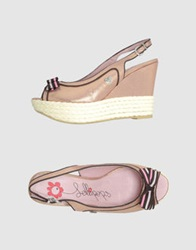 Lollipops Wedges Pink