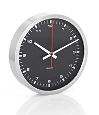 Blomus Era 9.4 Black Wall Clock