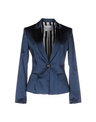 Frankie Morello Suits And Jackets Blazers Women Pastel Blue