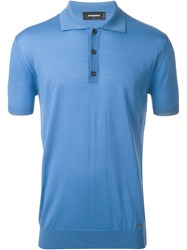 Dsquared2 Classic Polo Shirt Blue
