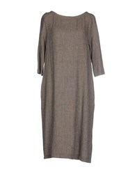 Momoni Momoni Dresses Knee Length Dresses Women Dove Grey