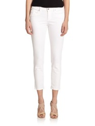Eileen Fisher Skinny Cropped Jeans White