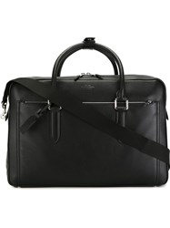 Smythson 'Burlington' Holdall Black