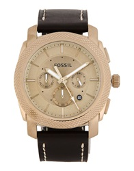 Fossil Wrist Watches Dark Brown