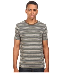 Captain Fin Clyde Short Sleeve Knit Taupe Men's Clothing