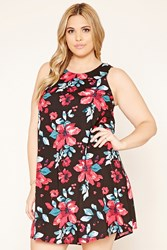 Forever 21 Plus Size Floral Shift Dress