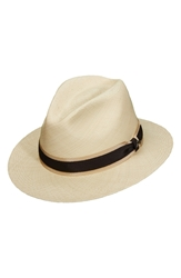 Tommy Bahama Panama Straw Safari Hat Natural