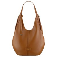 Radley Electric Avenue Leather Large Hobo Bag Tan