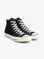 Converse Chuck Taylor All Star 70S High Top Sneakers Black White Ivory Silver