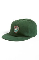 Camp Hero Women's Beaded Baseball Hat Green Olive