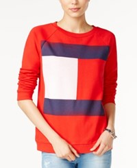 Tommy Hilfiger Flag Logo Sweatshirt Only At Macy's Formula One