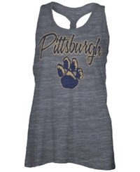 Royce Apparel Inc Women's Pittsburgh Panthers Nora Tank Top Charcoal