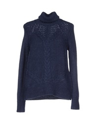 Stefanel Turtlenecks Dark Blue