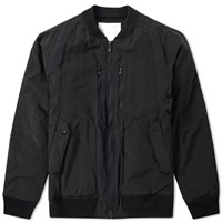 White Mountaineering Windstopper Ma 1 Jacket Black