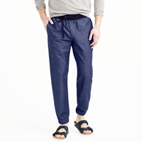 J.Crew Sideline Pant In Chambray