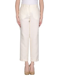 Pringle Of Scotland Casual Pants Ivory