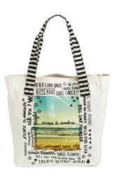 Volcom 'Tote It Around' Tote Natural